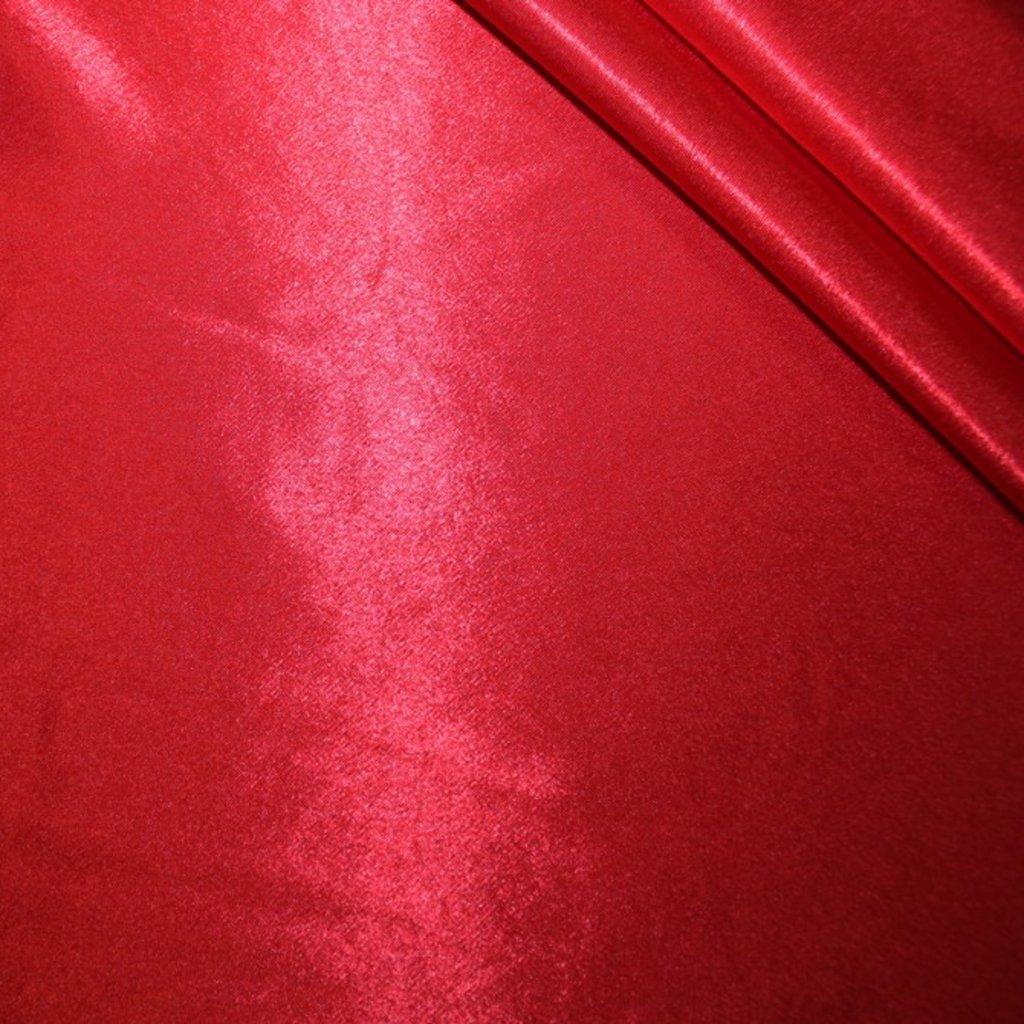 Krepsatén červený
