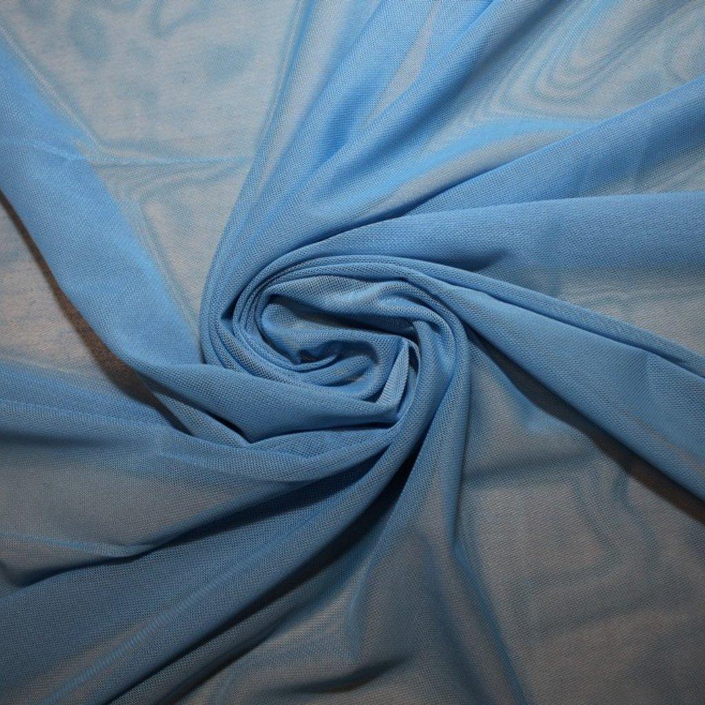 Tyl pružný modrý