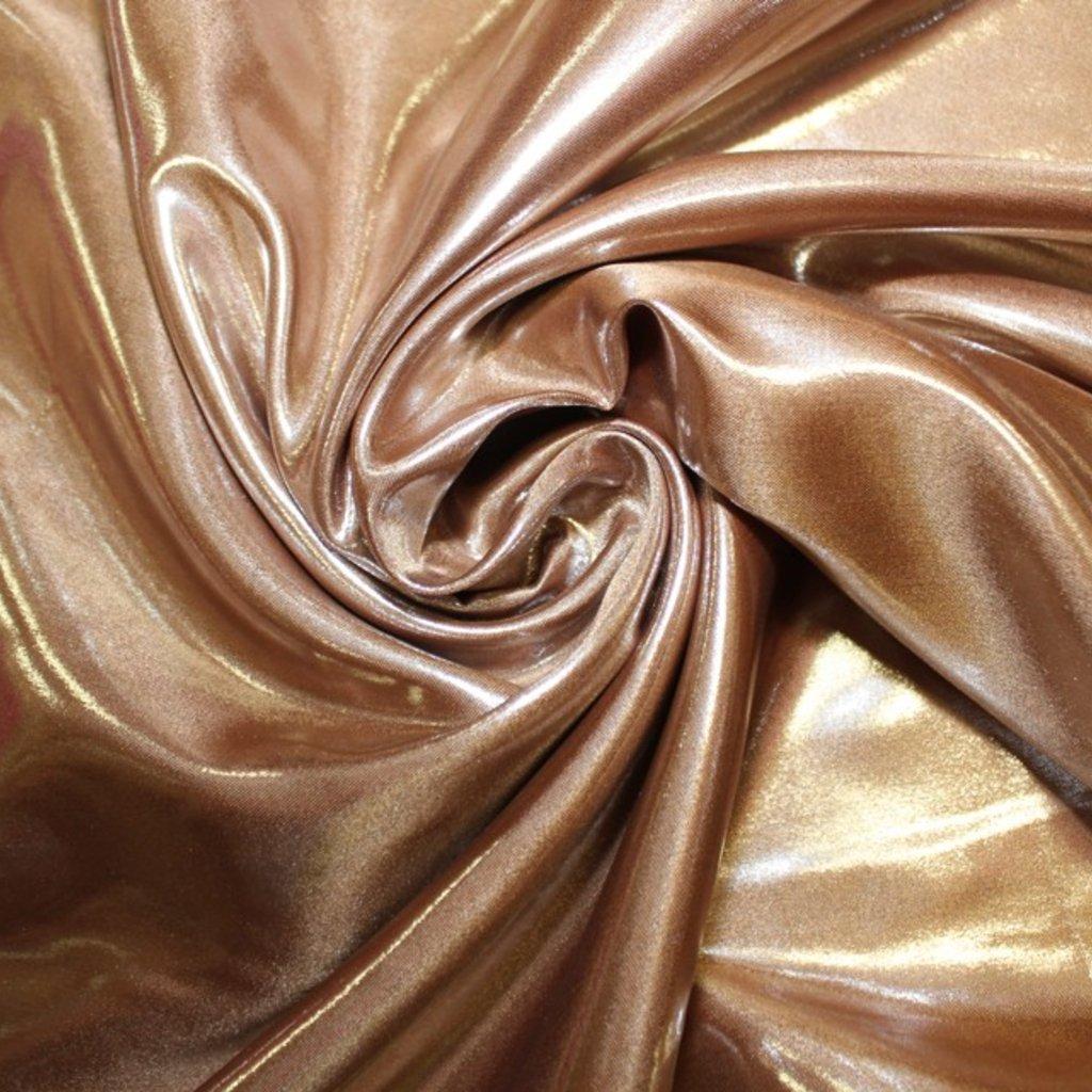 Taft/satén zlatý