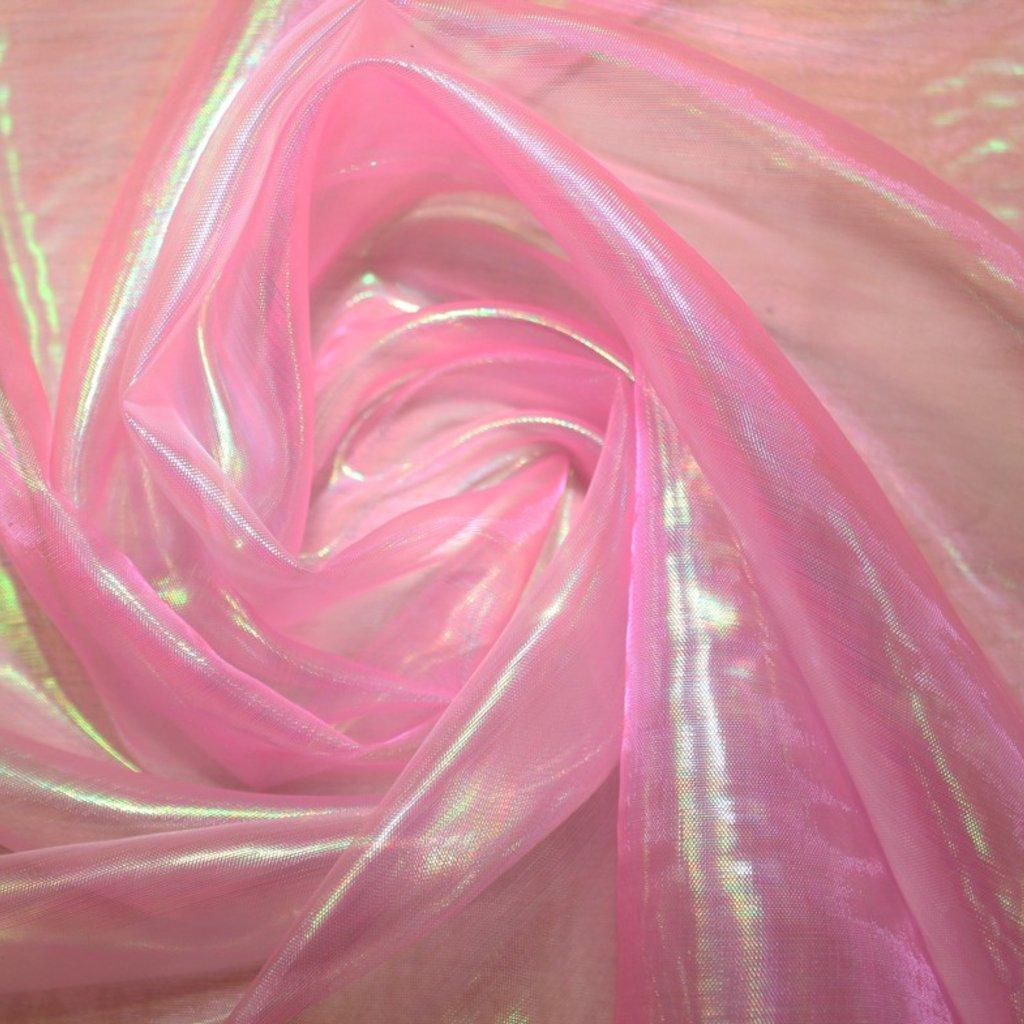 Organza růžová