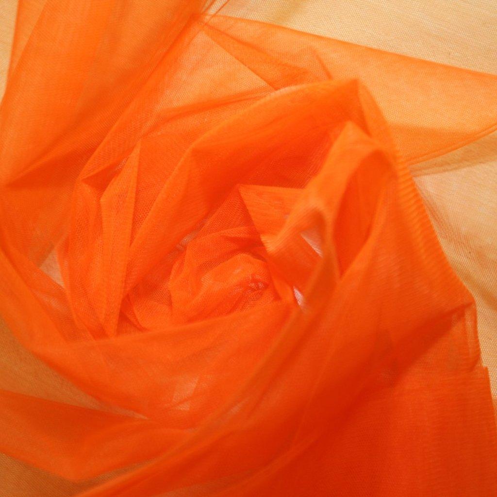 Tyl spodničkový oranžový