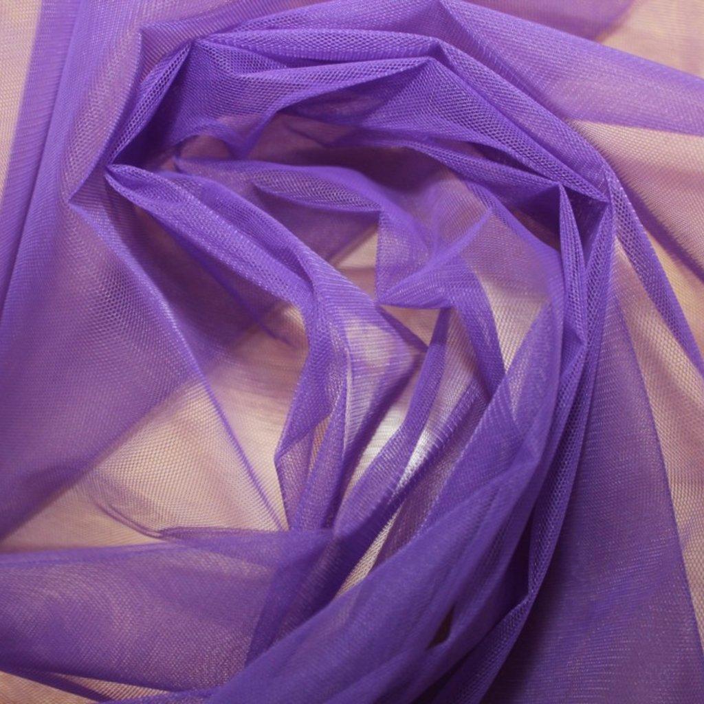 Tyl spodničkový fialový