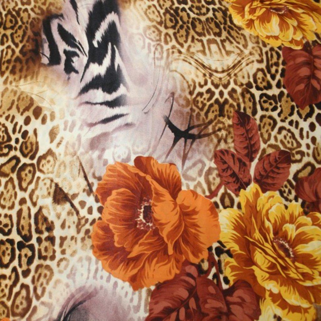 Polyester béžovohnědý