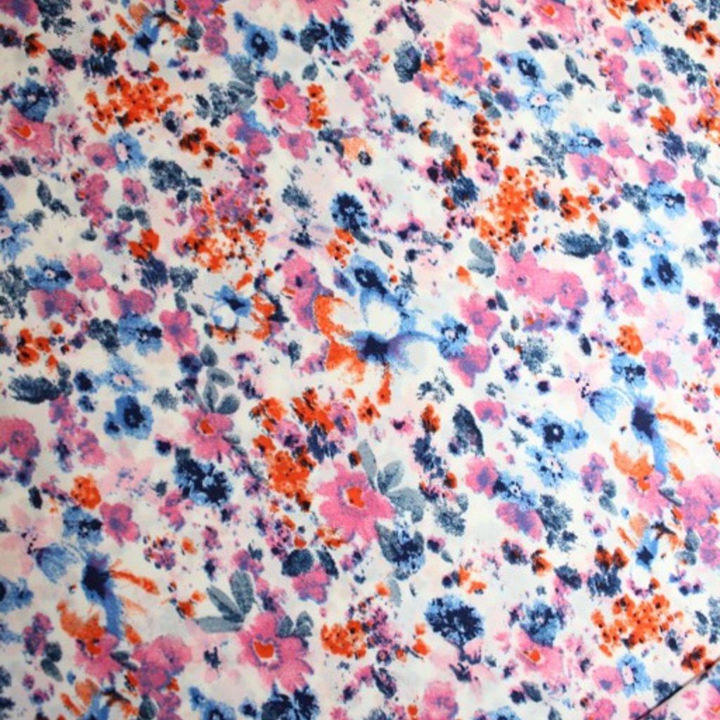 Polyester bílorůžový