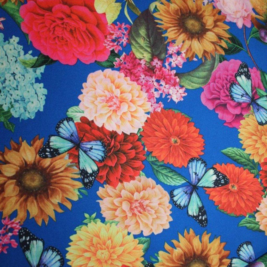 Polyester modrožlutý