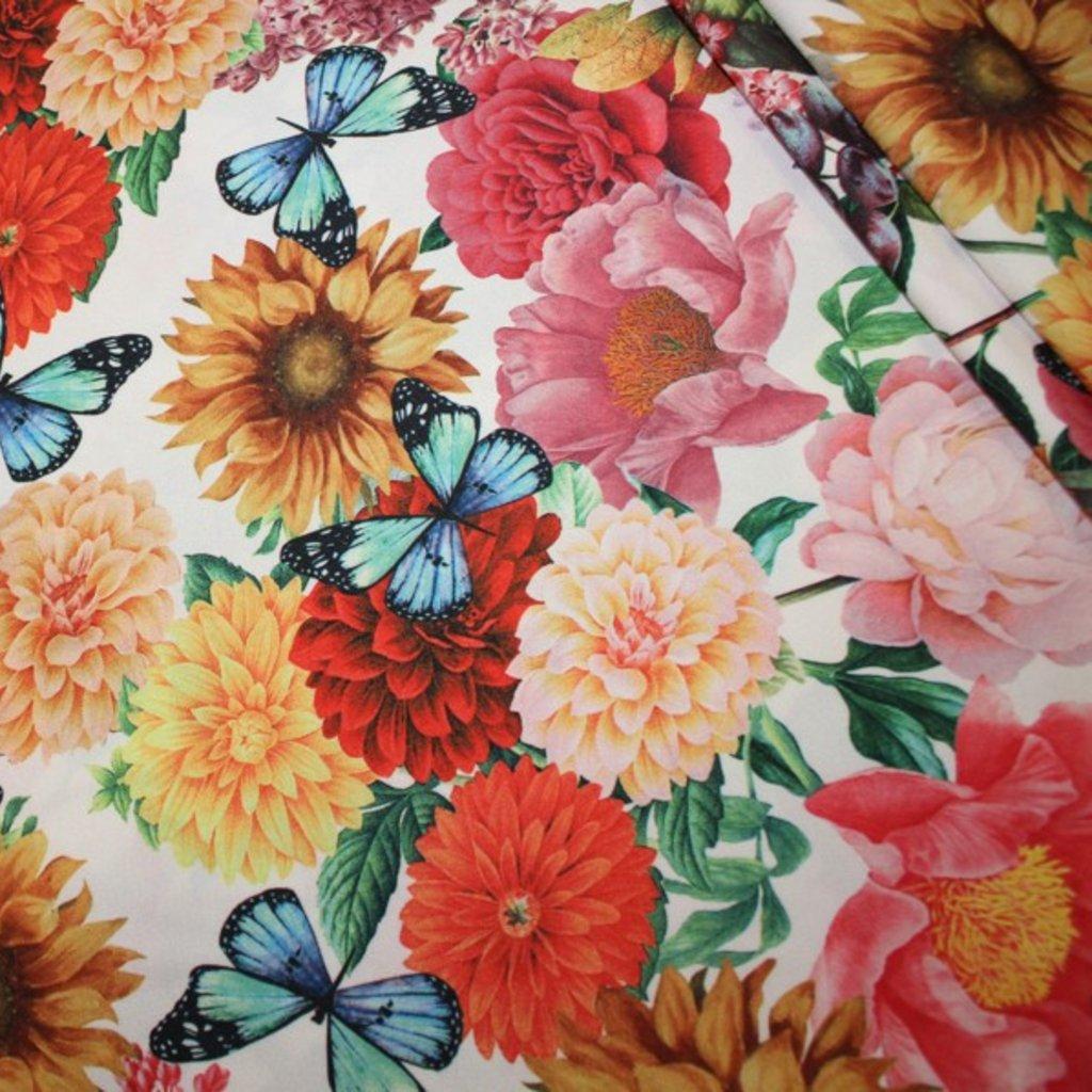 Polyester bílobarevný