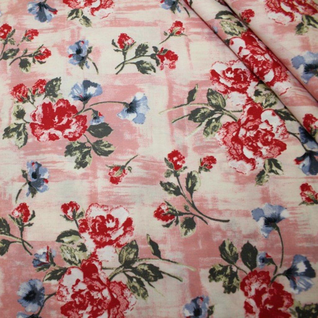 Bavlna růžovočervená