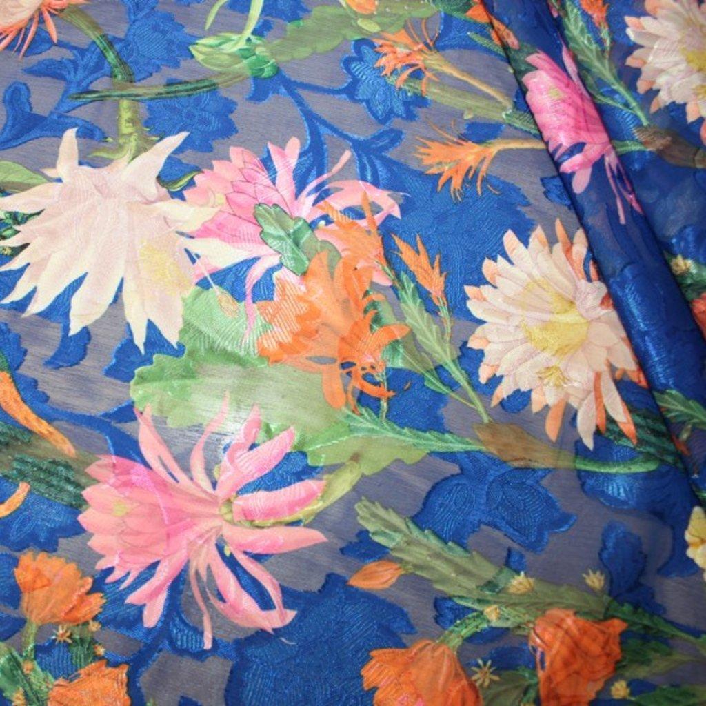 Polyester modrorůžový