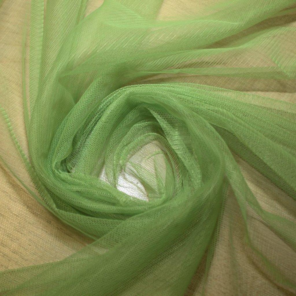 Tyl závojový zelený