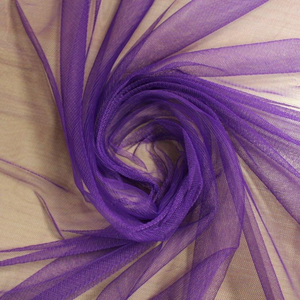Tyl závojový fialový