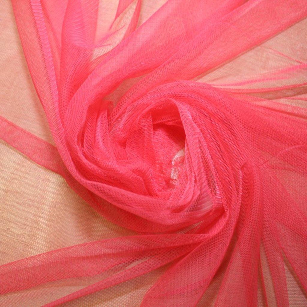 Tyl závojový růžový