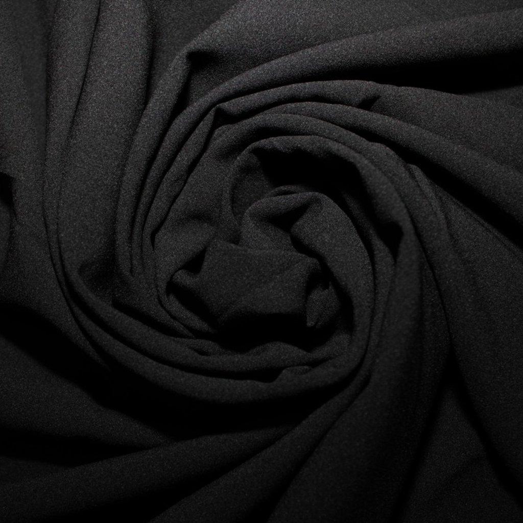Žoržet slabý halenkový černý