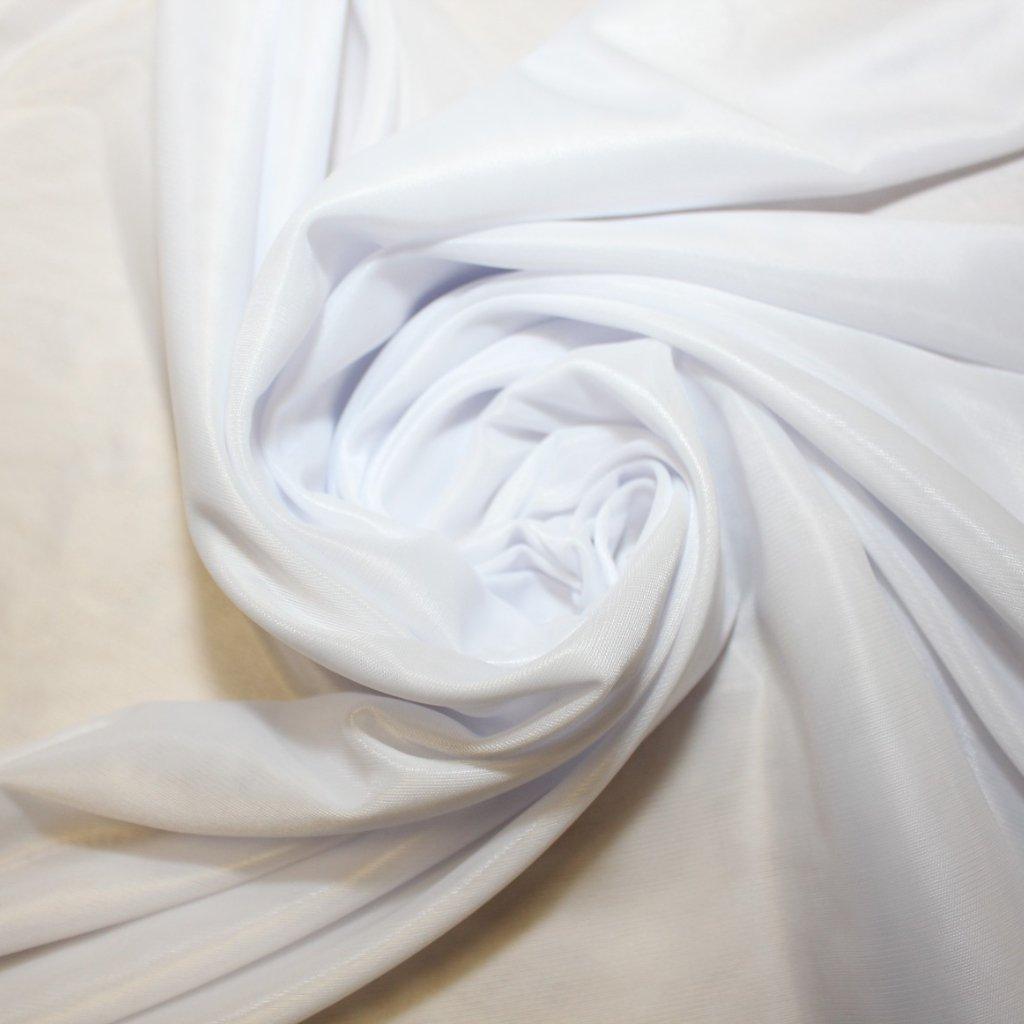 Podšívka bílá elastická