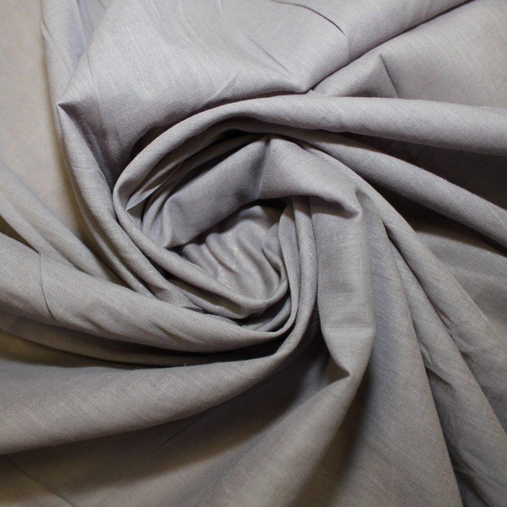 Bavlna batist šedá