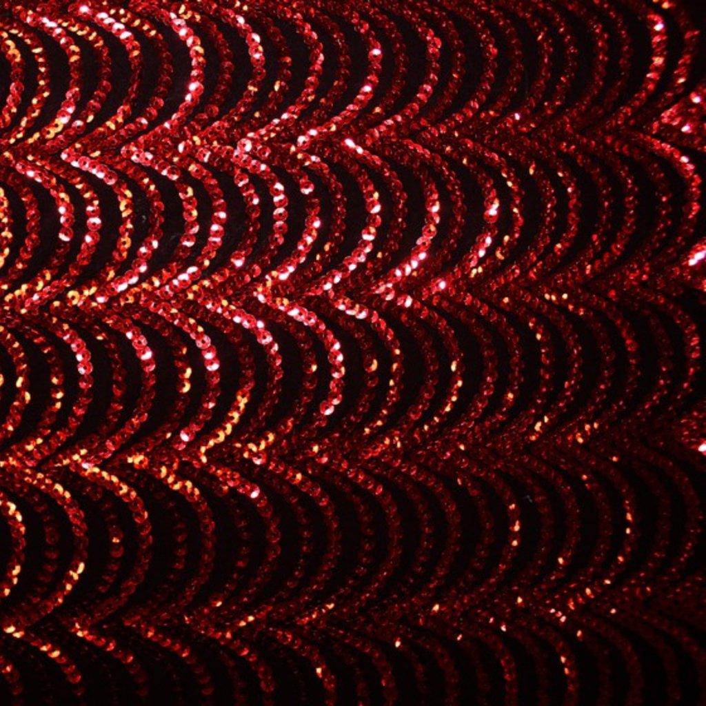 Flitrová látka červenočerná