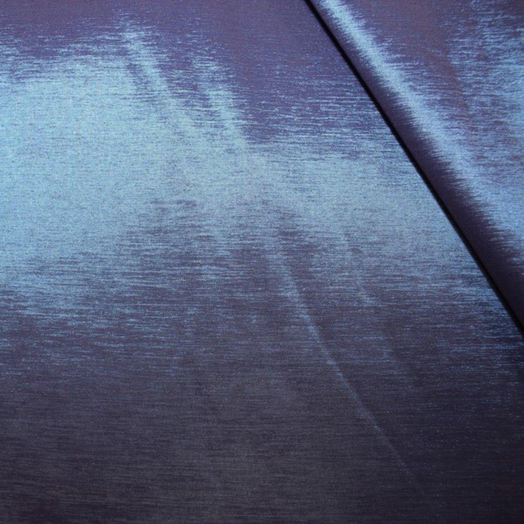 Taft strečový modrý chameleon