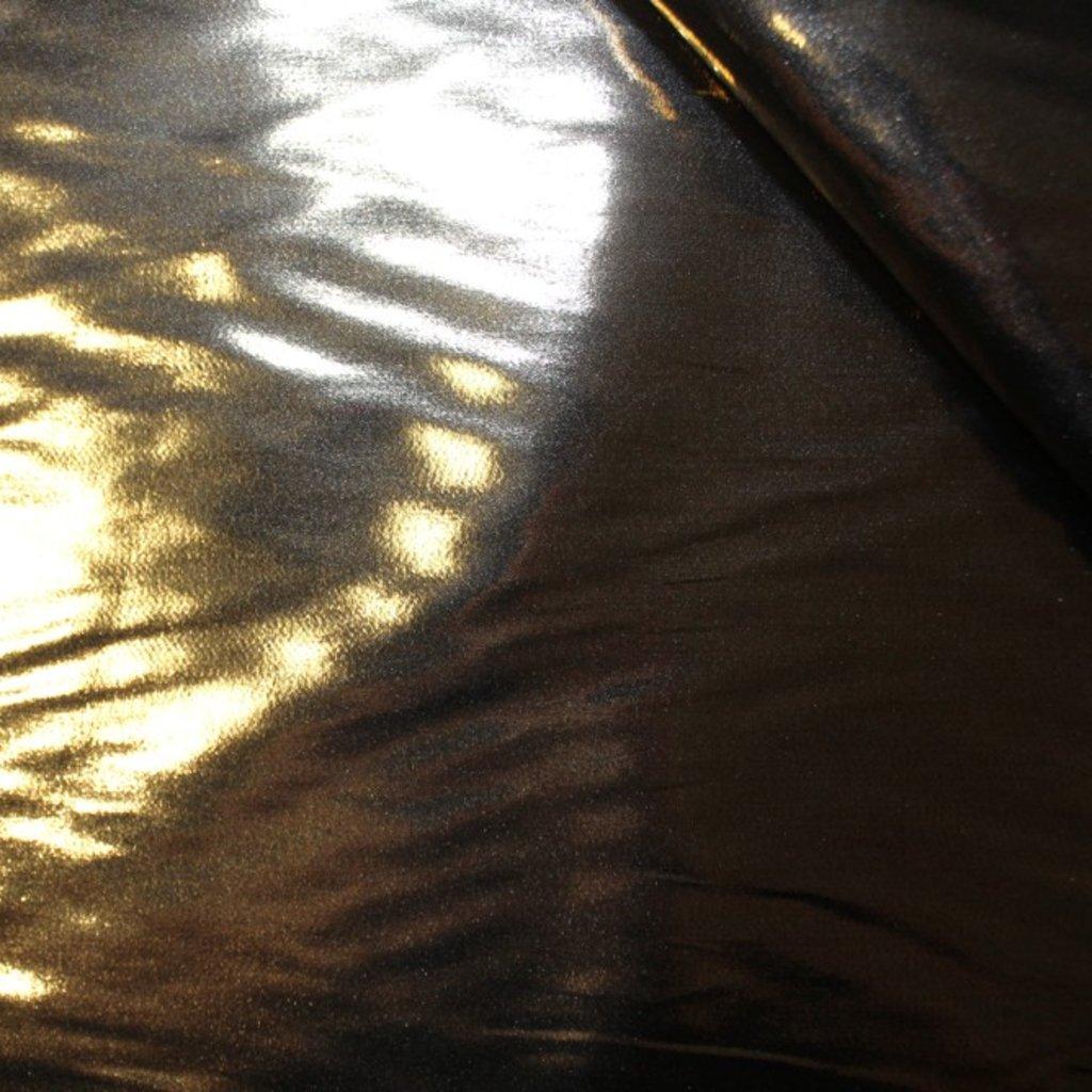 Taft tmavě zlatý