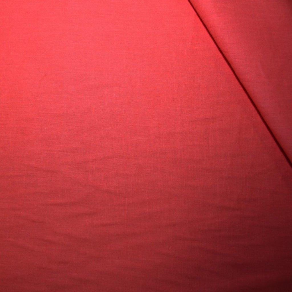 Bavlna batist lososová