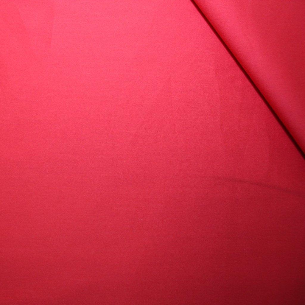 Bavlna pružná růžovočervená
