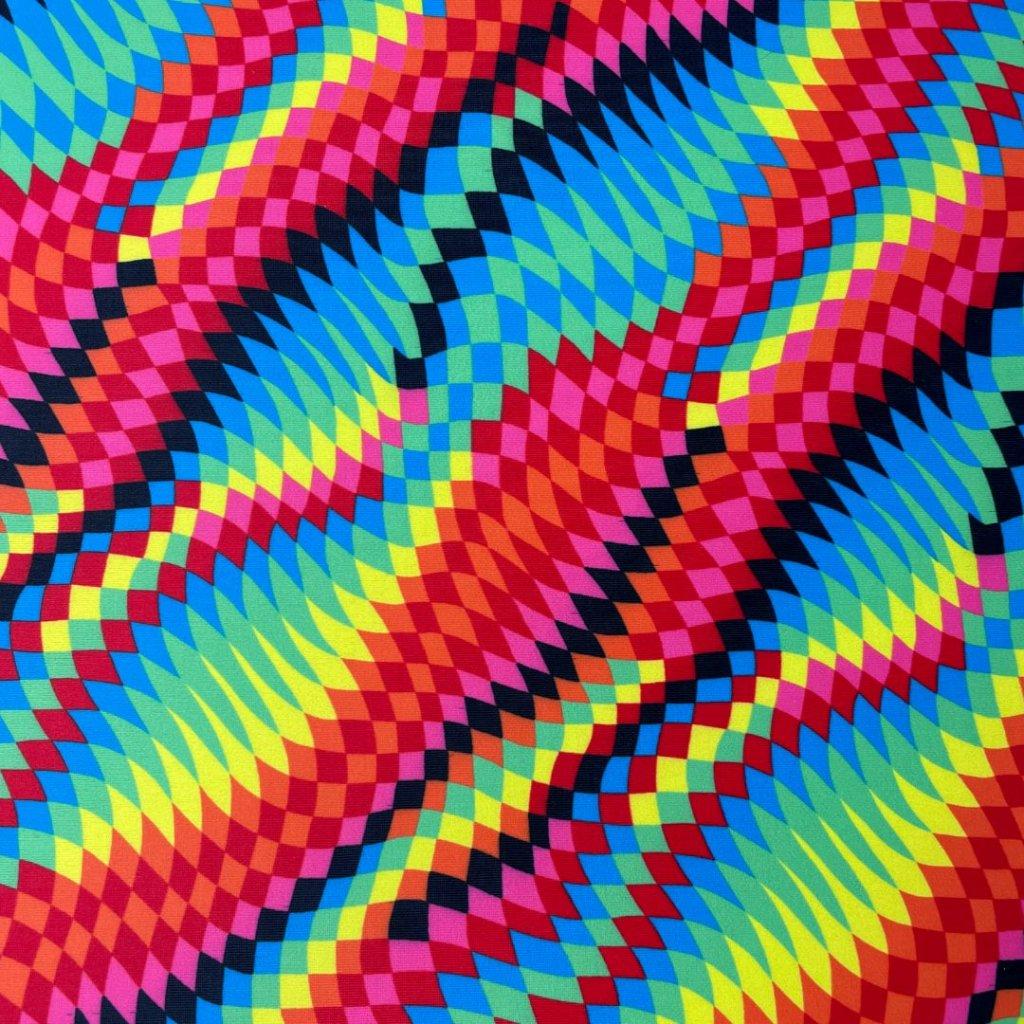 Lycra různobarevná