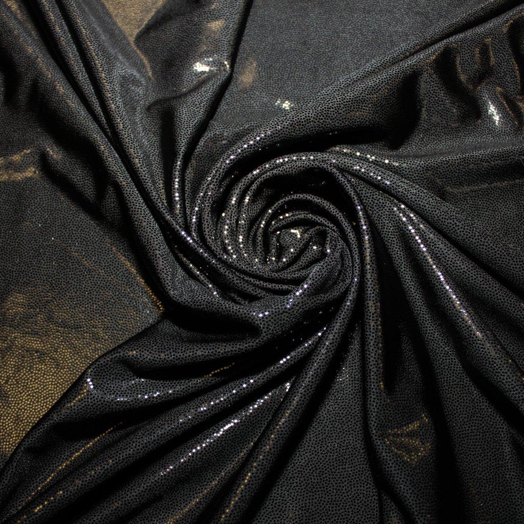 Úplet černý lesklý