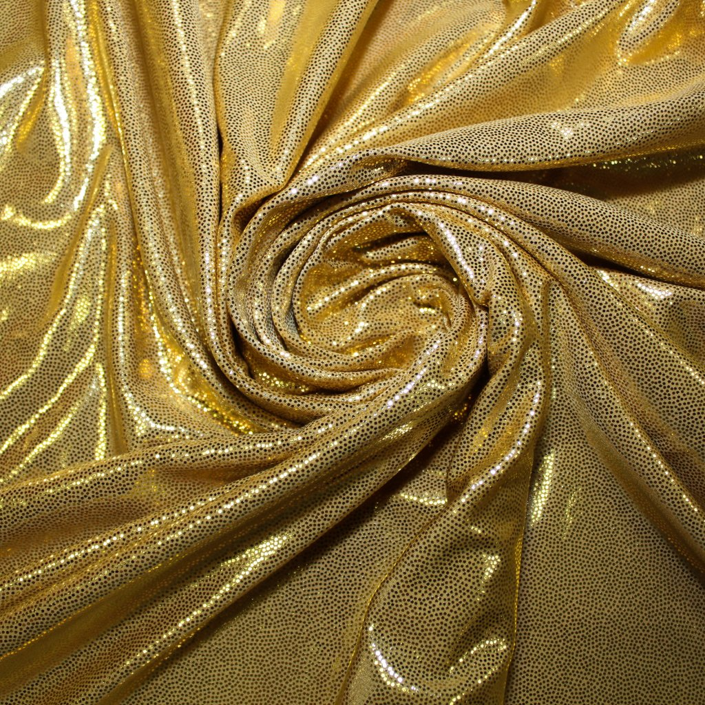 Úplet zlatý lesklý