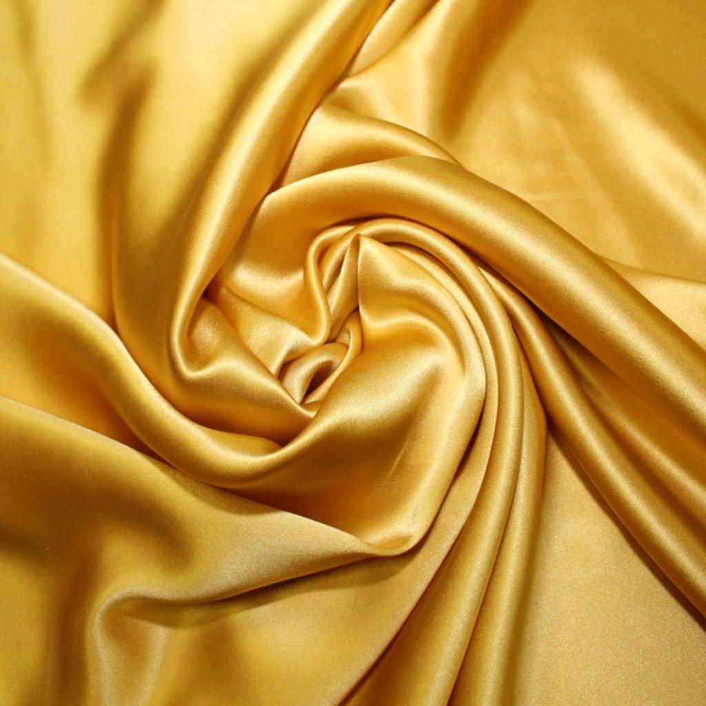 Hedvábí pravé zlatožluté