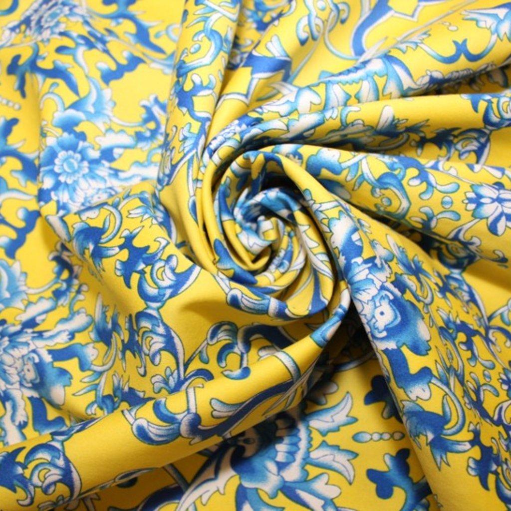 Bavlna žlutomodrá