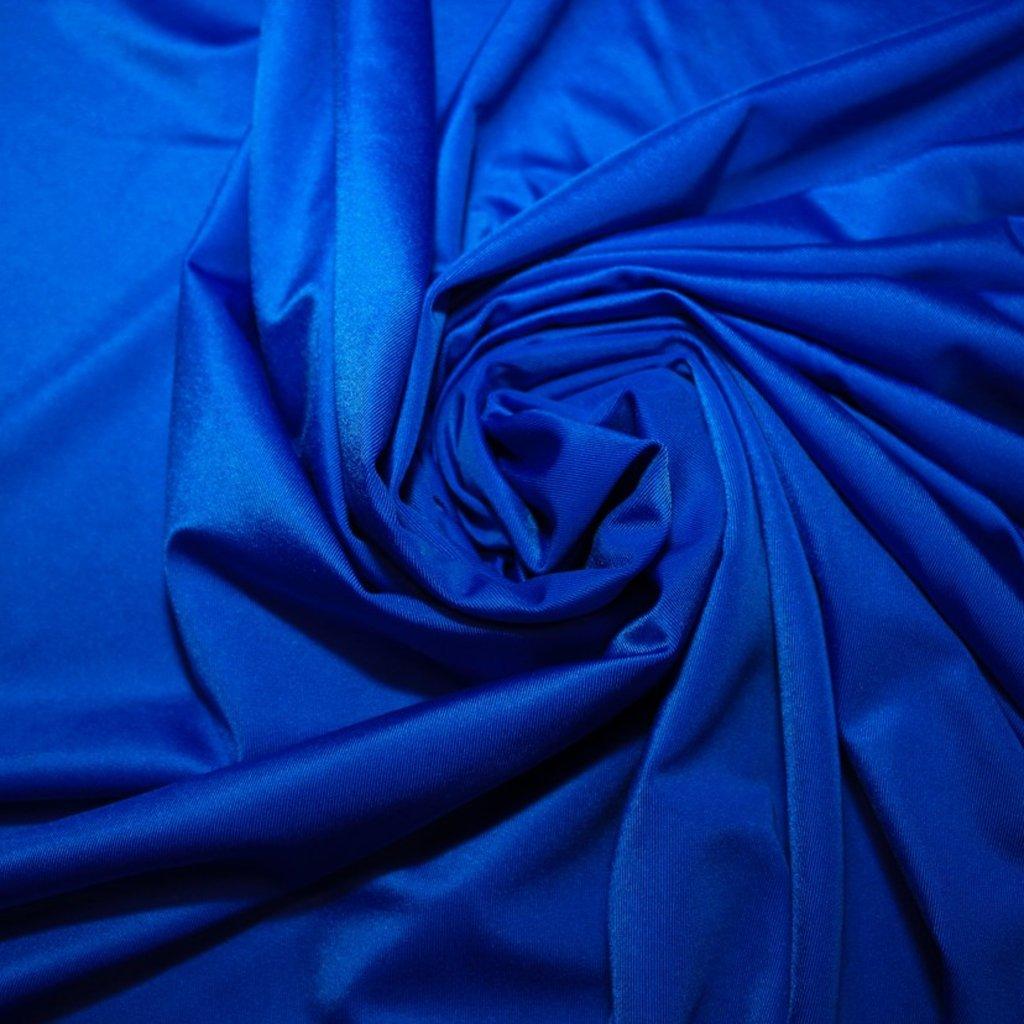 Lycra velmi tenká modrá