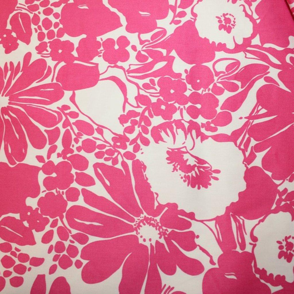 Bavlna růžovobílá