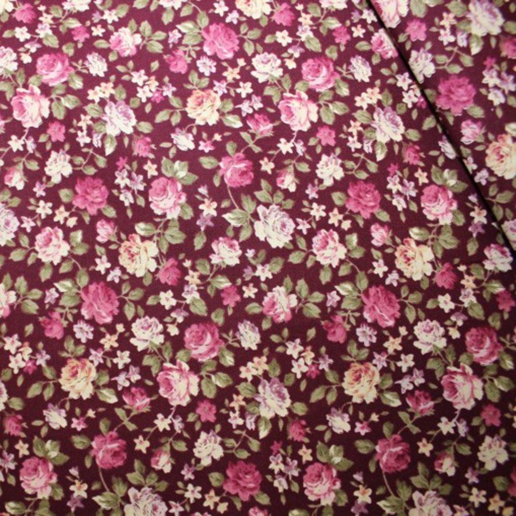 Bavlna tmavě růžová