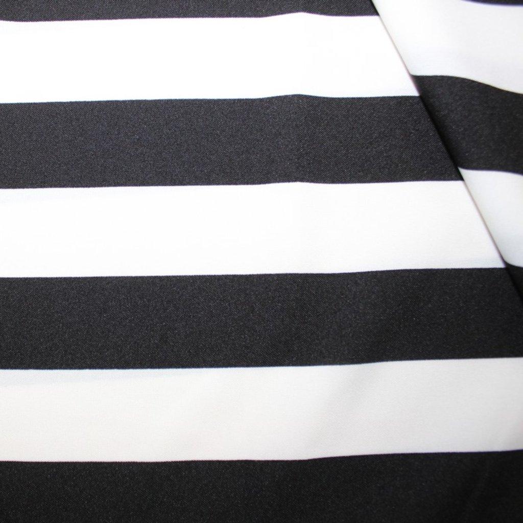 Kostýmovka černobílá