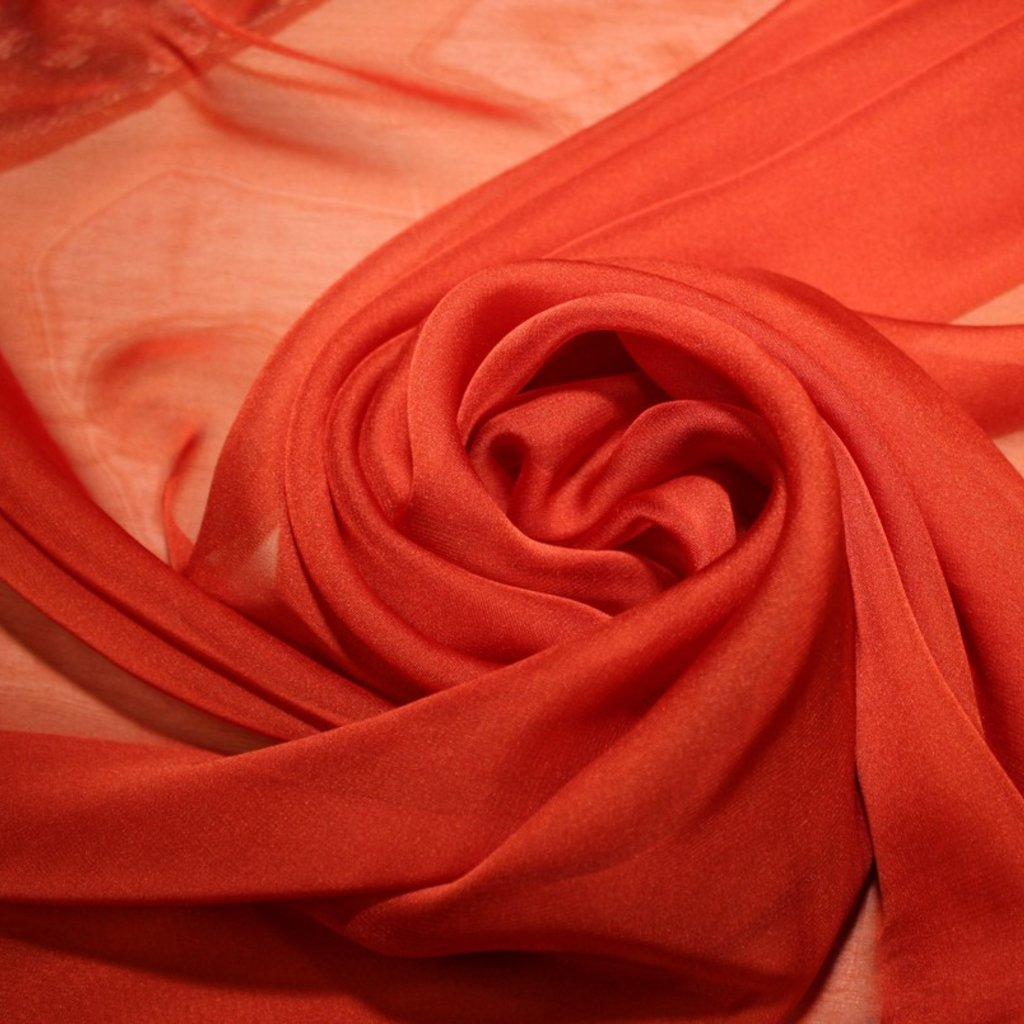 Šifon oranžový
