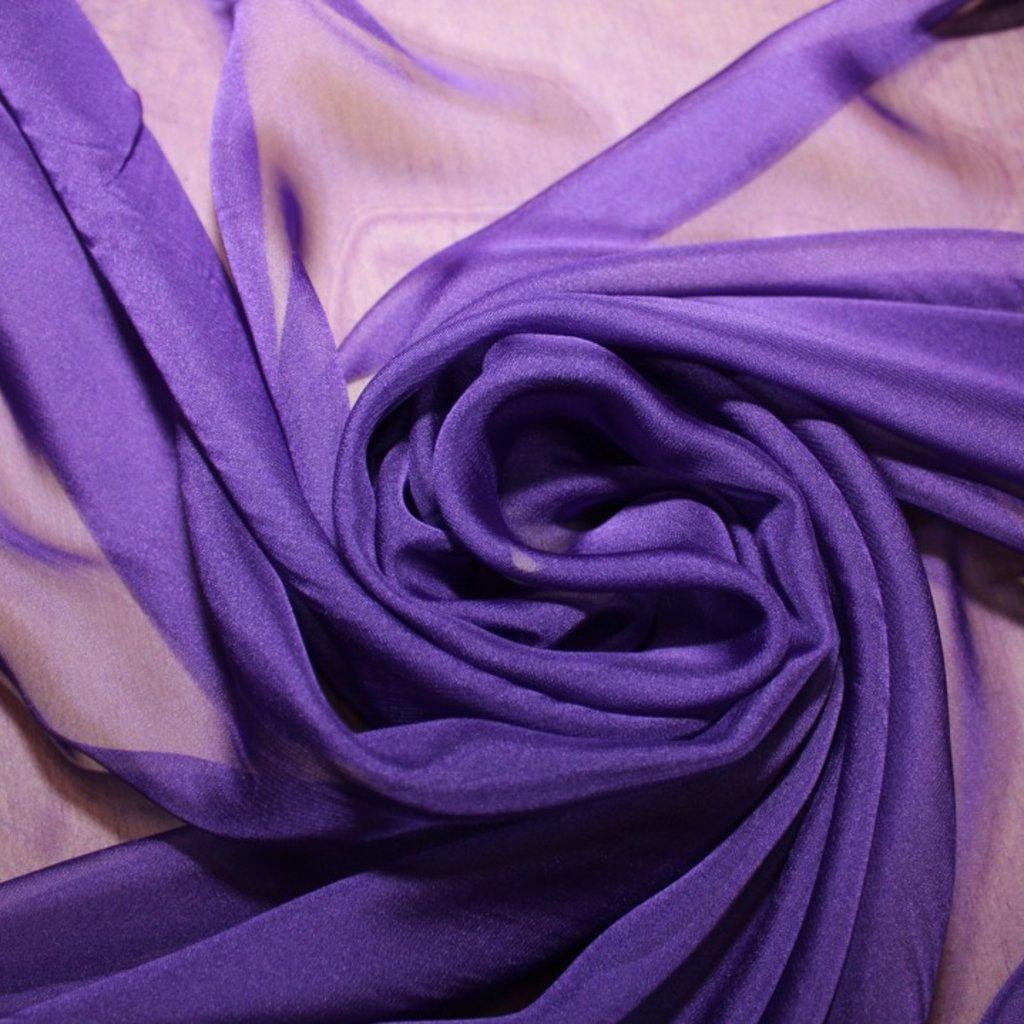 Šifon fialový