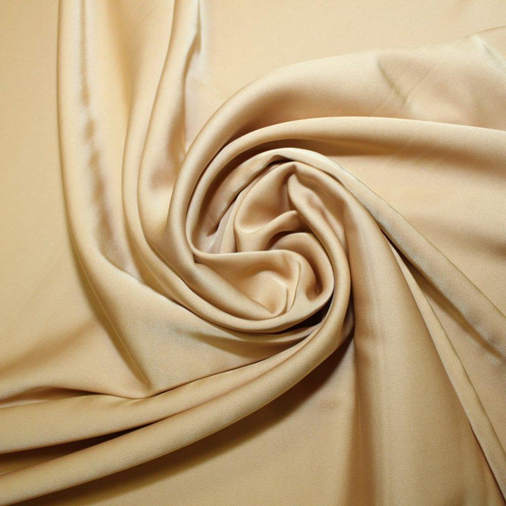 Satén jemný prádlový béžovozlatý