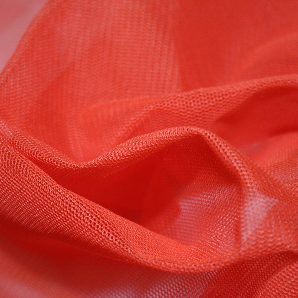 Tyl tuhý červenooranžový