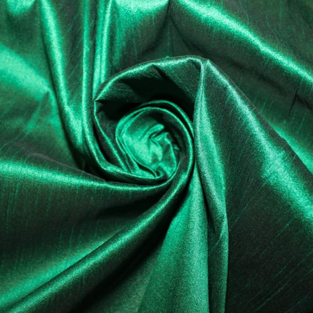 Taft zelený