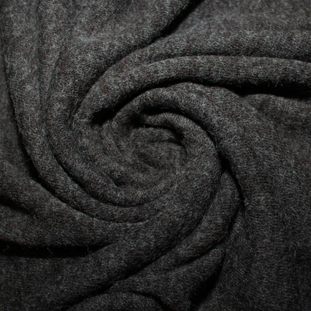 Úplet tmavě šedý melír