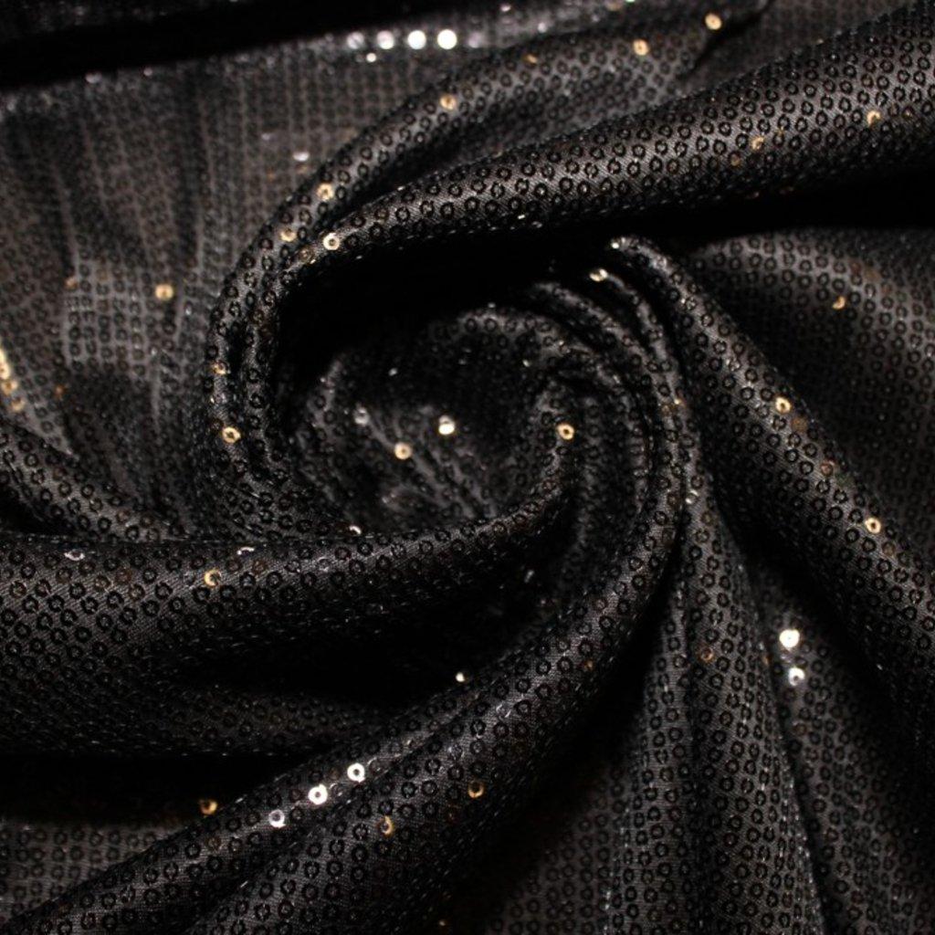 Flitrová látka černá