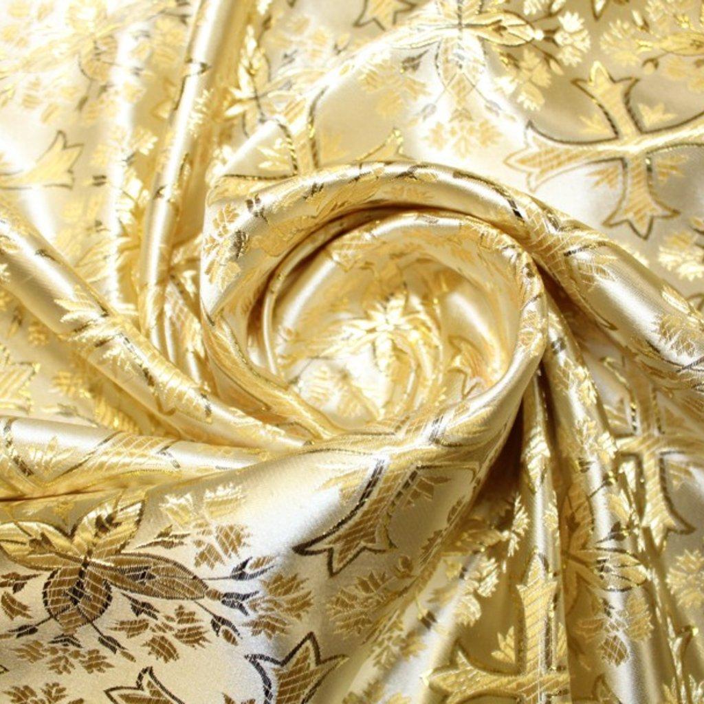 Brokát zlatý