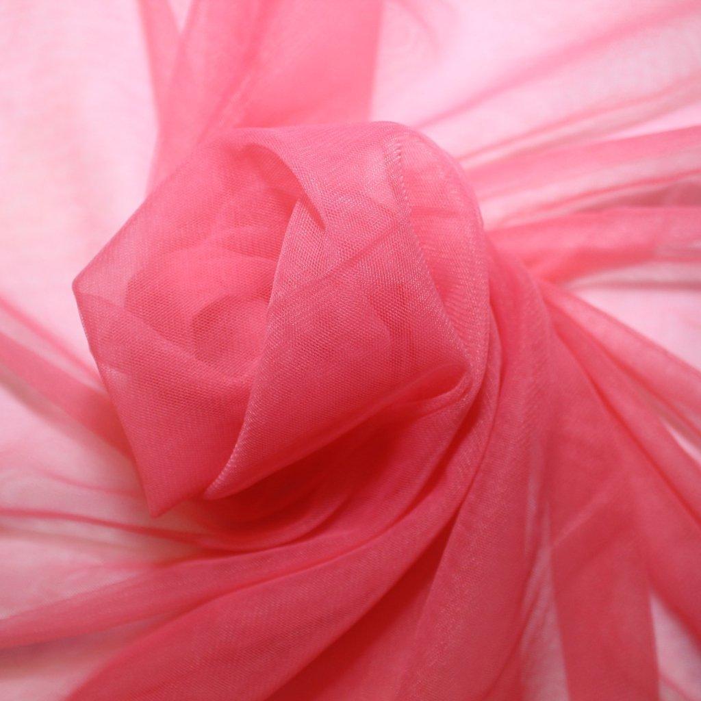 Tyl jemný růžový