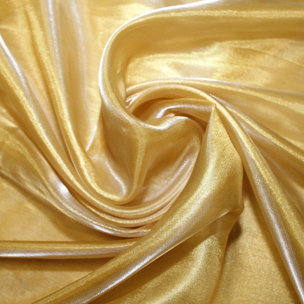 Organza zlatá