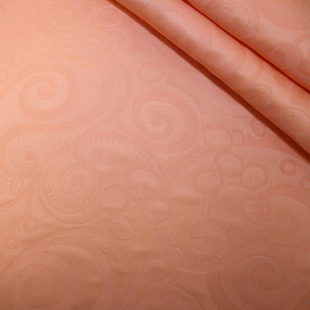 Polyester s potiskem oranžový