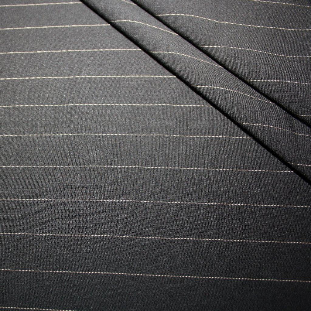 Kostýmovka s proužkem tmavě šedá