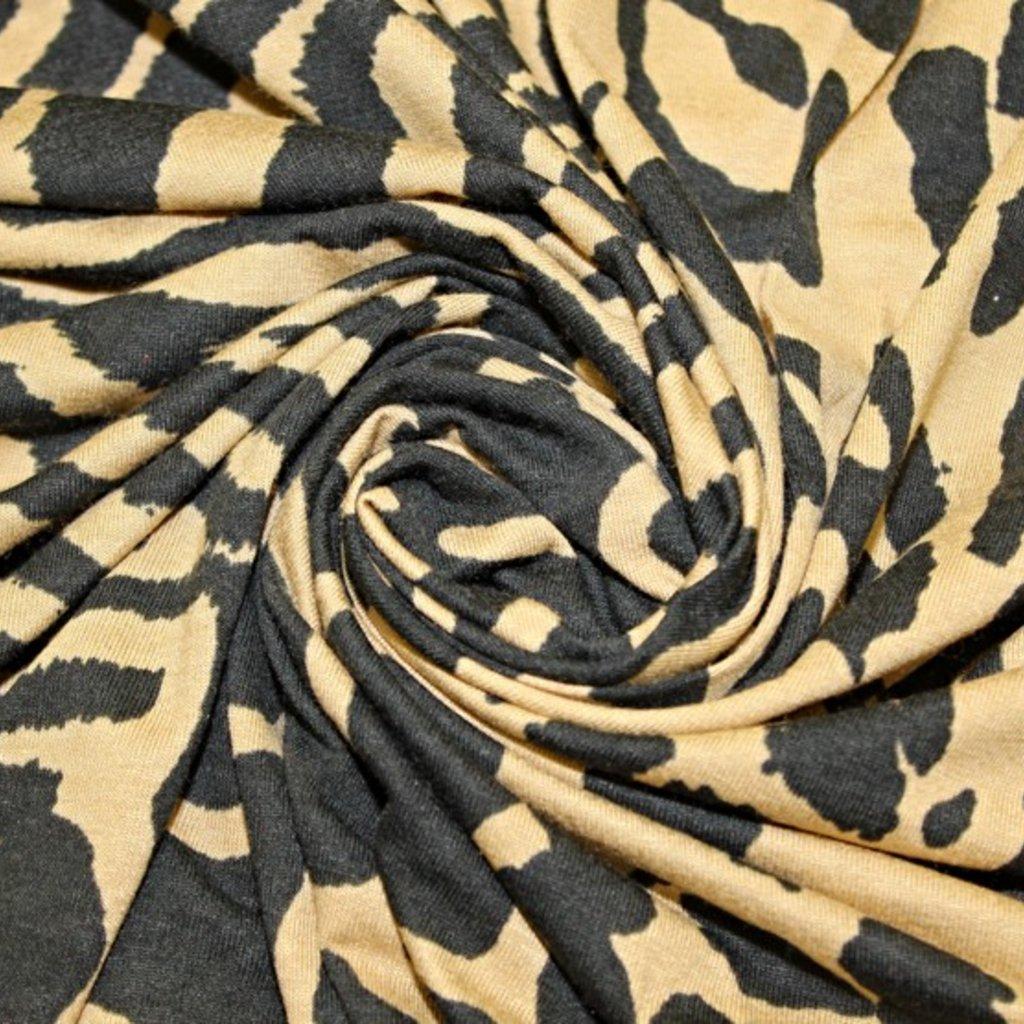 Úplet jemný s tygřím vzorem