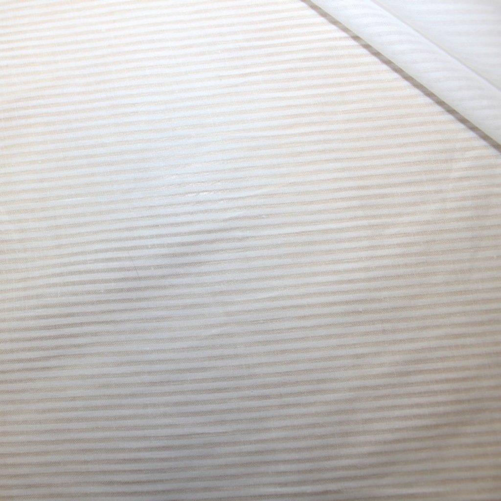 Bavlna smetanová s proužkem