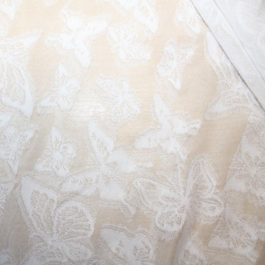 Krajka bílá bavlněná