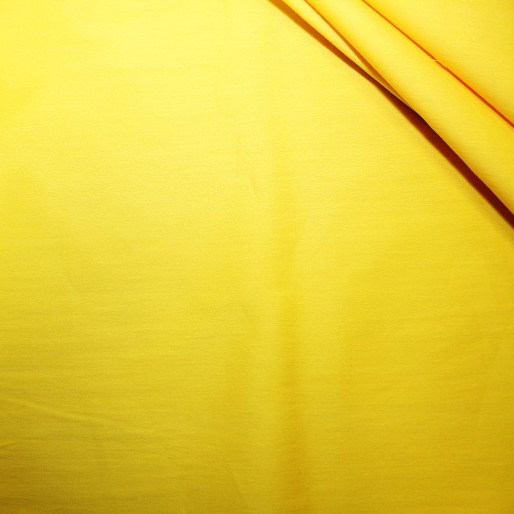 Bavlna strečová žlutá