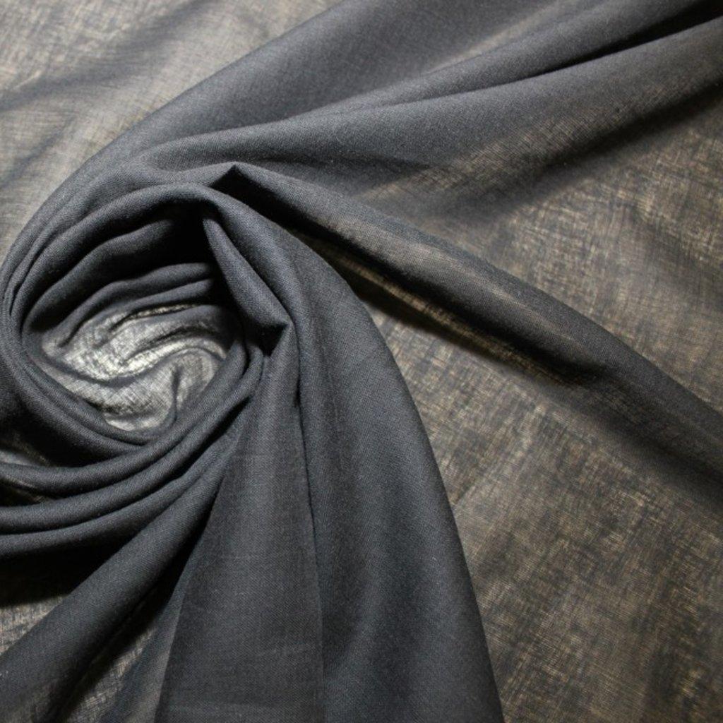Bavlna batist černá