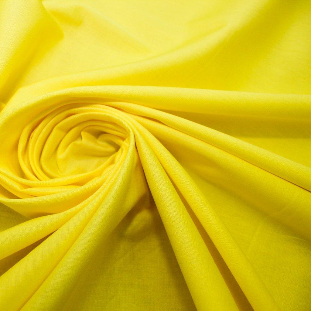 Bavlna žlutá elastická